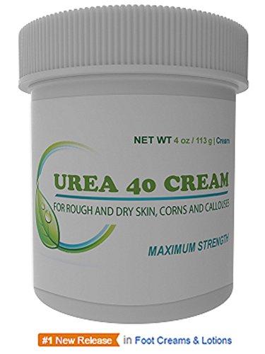 Urea Cream 40 | Corn and Callus Remover, Skin Exfoliator and Urea Moisturizer Cream, 4oz (Corn And Callus compare prices)