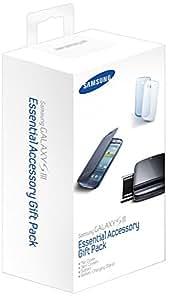 Samsung ETC-K1G6BEGSTD Kit d'accessoires avec Étui à rabat + 2 x slim cover + kit batterie Bleu