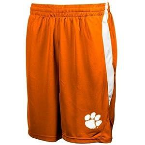 Buy Genuine Stuff Clemson Tigers Mens Side Block Shorts by Genuine Stuff