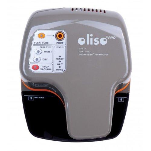Oliso Pro Vacuum Sealer Starter Kit, Grey