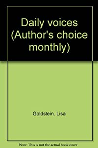 Daily voices (Author's choice monthly) by Lisa Goldstein