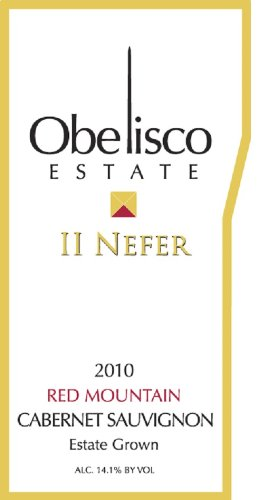 "2010 ""Ii Nefer"" Red Mountain Estate Cabernet Sauvignon 750 Ml"