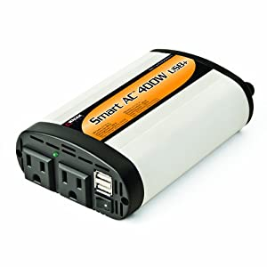 Wagan EL2003-5 400 Watt Continuous Power Inverter with 5V 2.1 Amps USB $33.15