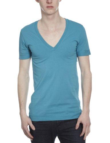 Energie Peek 1 Plain Men's T-Shirt Turchese Scuro X Large