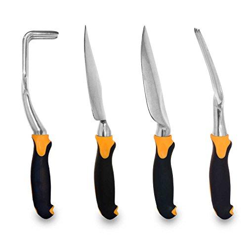Gardenhome ergonomic garden tools 4 piece tool set new ebay for Gardening tools online in pakistan