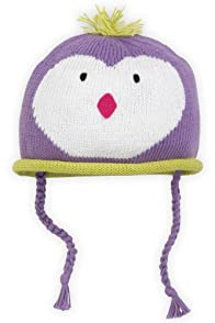 Joobles Organic Baby Hat - Icy the Penguin