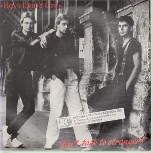 DON'T TALK TO STRANGERS 7 INCH (7 VINYL 45) UK LEGACY 1983