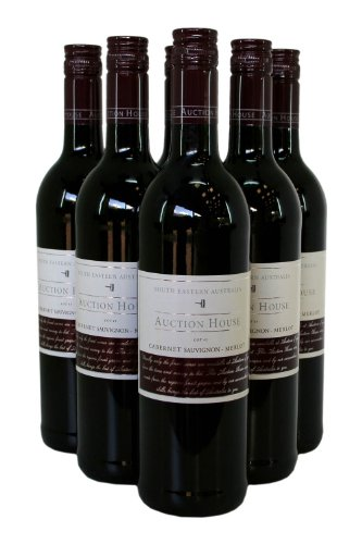 Auction House Cabernet Sauvignon Merlot - Case - 6 x 75cl