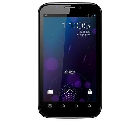 Polaroid PROG95D Smartphone 3G Dual-SIM 5.3 pouces USB Android 4.0 Ice Cream Sandwich 4 Go Noir