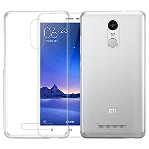 OPUS Ultra Thin Luxury Transparent Back Cover FOR Redmi Note 3 + OTG CABLE FREE + MICRO USB CABLE