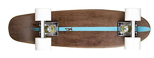 Ridge Skateboards Maple Mini Cruiser- NR2 Skateboard, Bianco
