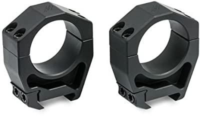 Vortex Precision Matched Riflescope Rings (Set of 2) High Height for 34 mm (1.26 Inch Height) by Vortex Optics