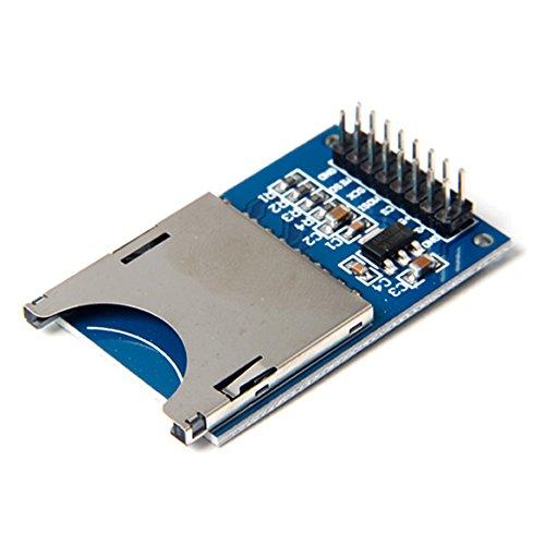 Lecteur Carte SD Card Reader Module avec Socket Slot Arduino pr MP3 MCU/ARM