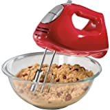 Hamilton Beach 62633R Ensemble Hand Mixer with Snap-On Case -