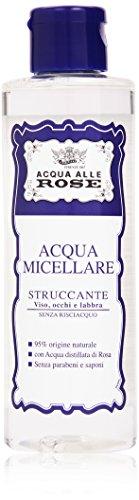 Acqua alle Rose - Acqua Micellare Struccante, Viso, Occhi e Labbra - 200 ml