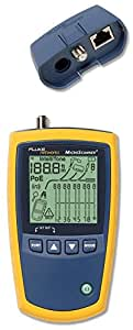 Fluke Networks MS2-100 MicroScanner2 Cable Verifier, RJ45 Tester and VDV Cable Tester