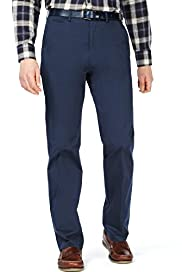 Blue Harbour Supima® Cotton Rich Flat Front Regular Fit Chinos