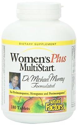 Natural Factors Women'sPlus MultiStart 180 tabs