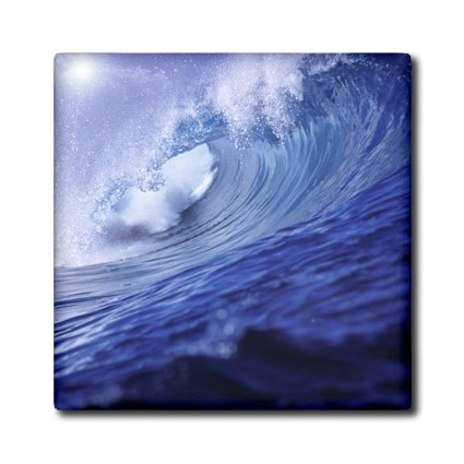 Ct_84862_4 Danita Delimont - Surfing - Fiji Islands, Tavarua, Cloudbreak, Surfing Waves - Oc01 Rer0000 - Ric Ergenbright - Tiles - 12 Inch Ceramic Tile