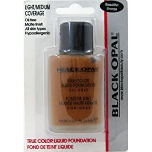 amazon black opal fond de teint liquide beautiful bronze 34 5 ml shampooings. Black Bedroom Furniture Sets. Home Design Ideas