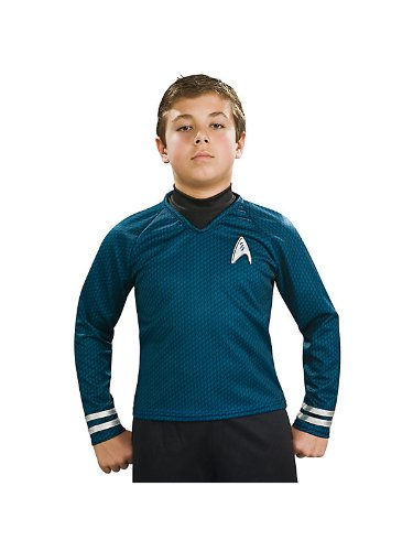 Star Trek II the Movie Child Deluxe Blue Shirt