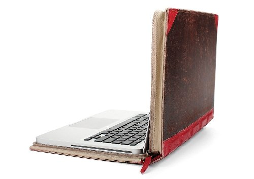 Twelve South BookBook for 15-Inch MacBook Pro - Vintage leather case for MacBook Pro (vibrant red)