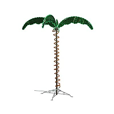 Green LongLife 7070103 Decorative Palm Tree Rope Light