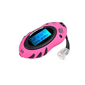 Sylvania 1GB Sport Style MP3 Player (Pink)