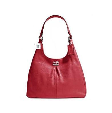 Red Hobo Shoulder Bag 30