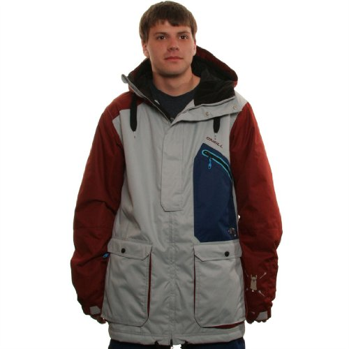 O'Neill Snow Men's Newschoolers Jacket, Metal Grey, X-Large