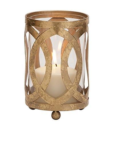 Deco 79 Metal/Glass Candle Lantern, Small