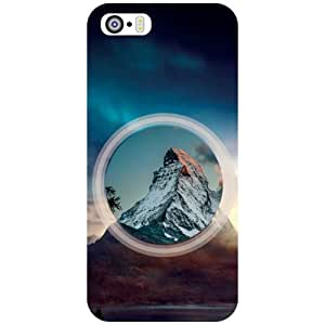 Apple iPhone 5S Back Cover - Circled View Designer Cases