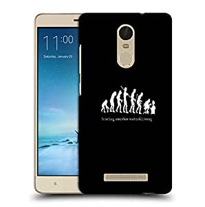 Snoogg Evolution Printed Protective Phone Back Case Cover For Xiaomi Redmi Note 3