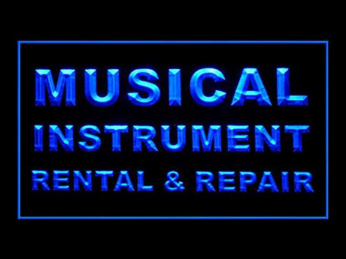 C B Signs Musical Instrument Rental Repair Led Sign Neon Light Sign Display