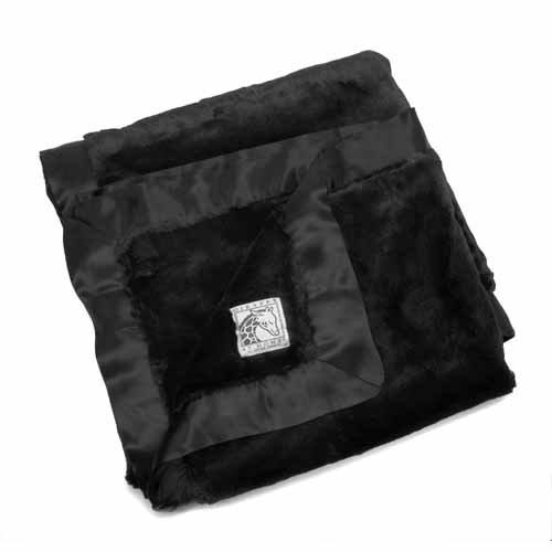 Little Giraffe Luxe Throw Blanket - Onyx front-1070926