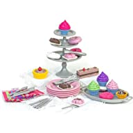 Sophia's 18″ Doll Dessert Set with De…