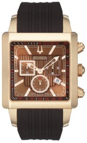 Bulova Accutron 64B115 Men's Accutron Watch in Rich Rose-Gold
