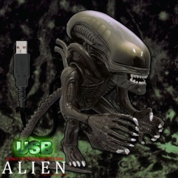 USB Alien Action Figure Collectible