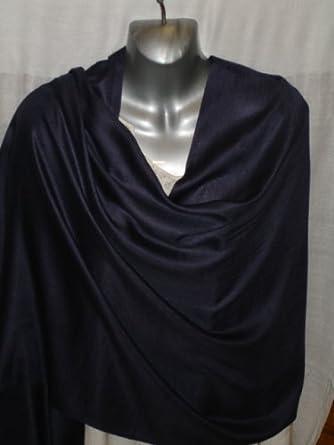 Navy Blue pashmina style shawl / scarf / Wrap