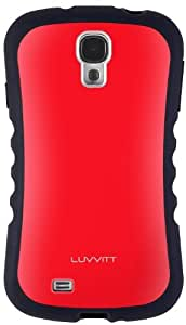 LUVVITT® ARMOR PRO Case for Samsung Galaxy S4 SIV - Red