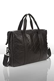 Marcel Wanders Capiton Leather Laptop Bag