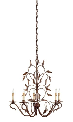 Elegant Compare ue ue Currey and Company Arcadia Light Chandelier Hand Rubbed Bronze Finish
