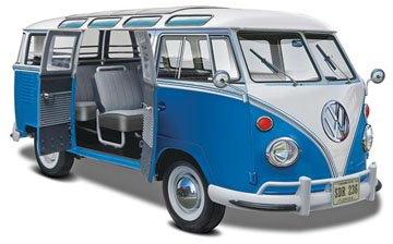 Revell 1:24 Volkswagen T1 Samba Bus Model Kit