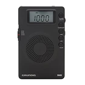 Grundig Mini GM400 Super Compact AM/FM Shortwave Radio with Digital Display