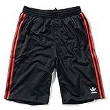 adidas originals アディダスオリジナルス ジャージ ハーフパンツ メンズ adi Tricot Shor 並行輸入品 (XXL, 11.Black(Red(White)))