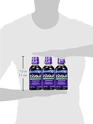 Vicks ZzzQuil Nighttime Sleep-Aid, Berry Flavor - 12 fl. oz - 3 pk.