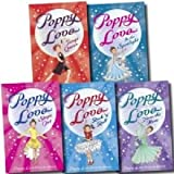 Natasha May Poppy Love Collection Loves to Dance Natasha May 5 Books Set (Poppy Love Steps Out, Poppy Love Rock 'n' Roll, Poppy Love Tango Queen, Poppy Love In the Spotlight, Poppy Love Faces the Music)