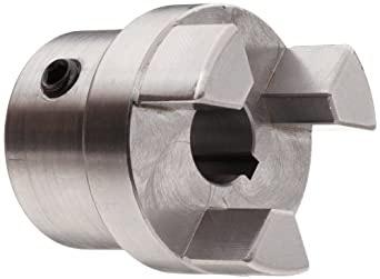 Boston Gear FC151/2 Shaft Coupling Half, FC15 Coupling Size, 0.500 inches Bore, 1-1/32 Thru Bore Length, 1.250 inches Hub Diameter, 6 Max HP at 1750 RPM, 250 Max Torque (LB-IN), Steel
