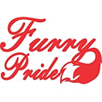 Furry Pride Vinyl Decal Sticker
