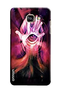 Omnam Hand And Eye On Mind Effect Printed Designer Back Cover Case For Samsung Galaxy A5 2016 (A510)
